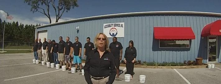 ASI ALS Ice Bucket Challenge