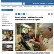 Device lets Lakeland couple communicate once again