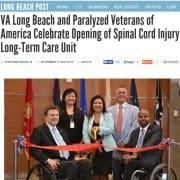 VA Long Beach Opens Spinal Cord Injury Long Term Care Unit