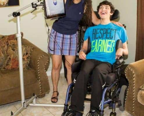 Donation Helps 20-Year-Old Anoxic Brain Injury Patient Become More Independent 3