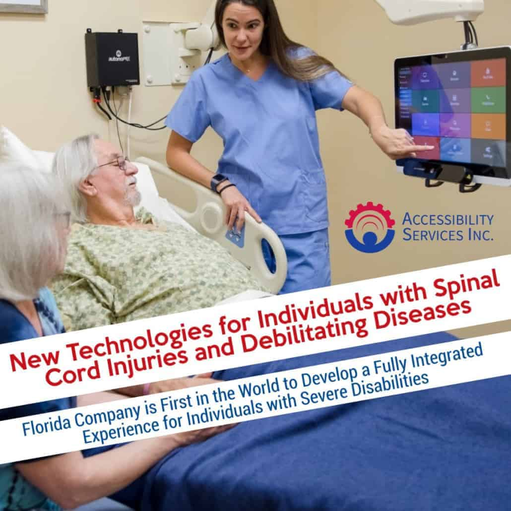 New Technologies for Individuals with Spinal Cord Injuries and Debilitating Diseases