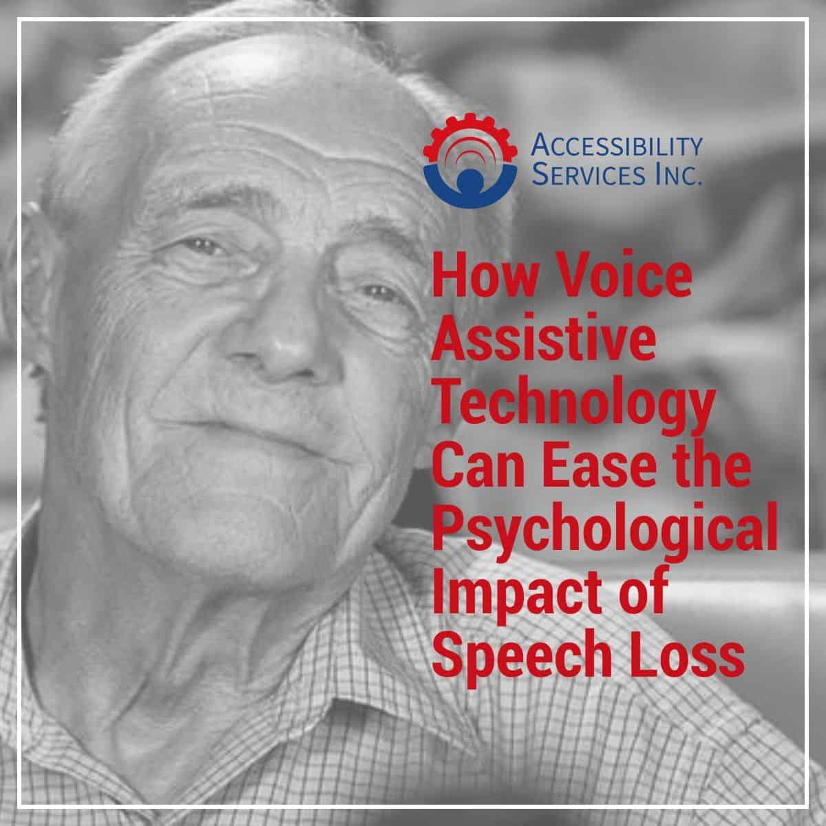 Voice Assistive Technology