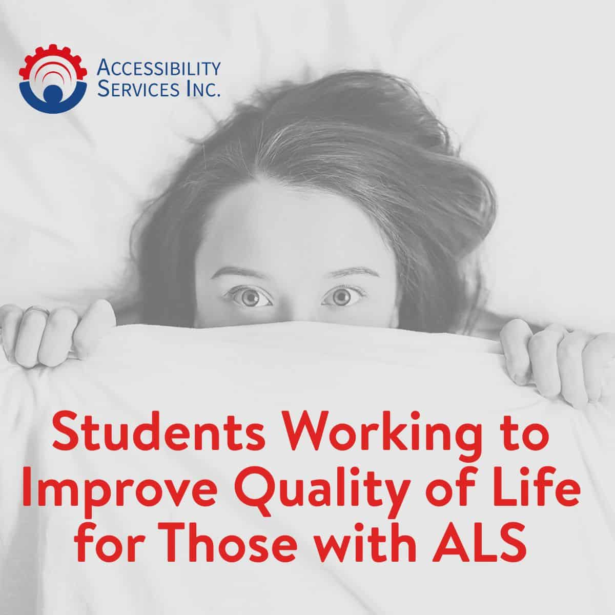 Students Working to Improve Quality of Life for Those with ALS