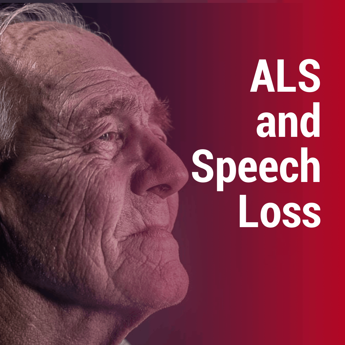 ALS and Speech Loss