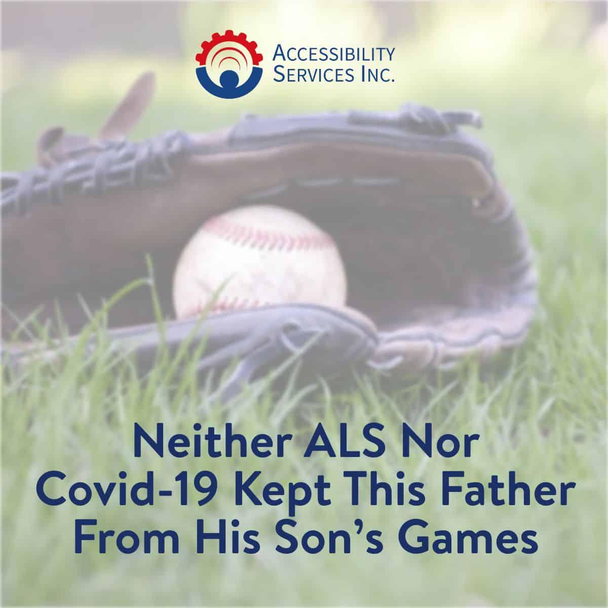 Neither ALS Nor Covid-19